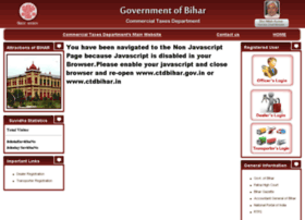 Ctdbihar.gov.in