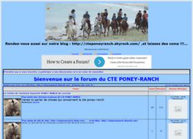 cteponeyranch.forumactif.com