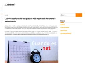 cuandoes.net
