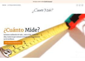 Cuanto-mide.com