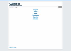 cuantoes.net