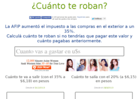 cuantoteroban.com