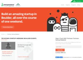 cuboulder.startupweekend.org