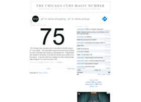 cubsmagicnumber.com