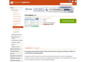 cue-splitter.programasgratis.es