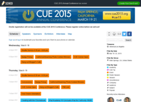 cue2015.sched.org