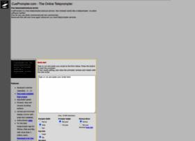 cueprompter.com