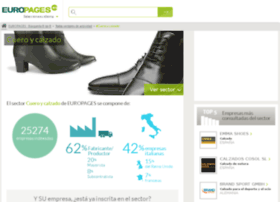 cuero-calzado.europages.es