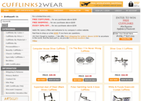 cufflinks2wear.com