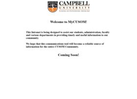 cuhealth.campbell.edu