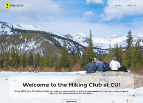 cuhikingclub.com