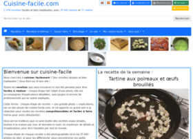 cuisine-facile.com