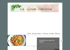 cuisine-italienne.eu
