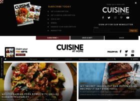 cuisineathome.com