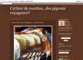 cuisinedespigeonsvoyageurs.blogspot.com