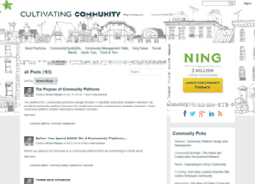 cultivate.ning.com