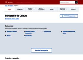 cultura.gob.pe