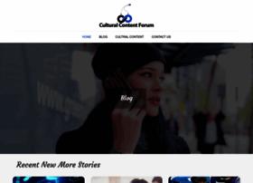culturalcontentforum.org