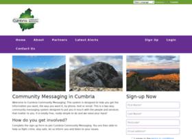 cumbriacommunitymessaging.co.uk