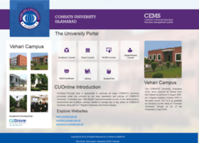 cuonline.ciitvehari.edu.pk