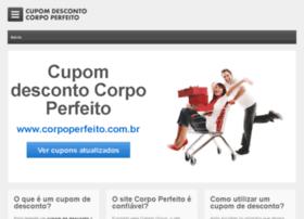 cupomdescontocorpoperfeito.com