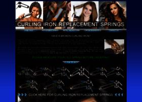 curlingironreplacementsprings.com