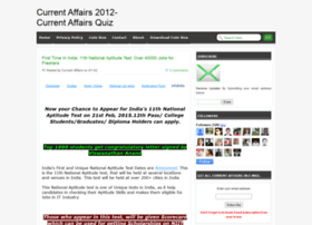 currentaffairs2012quiz.blogspot.in