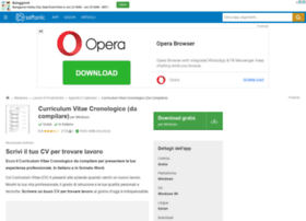 curriculum-vitae-cronologico-da-compilare.softonic.it