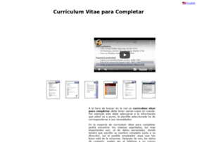 curriculumvitaeparacompletar.com