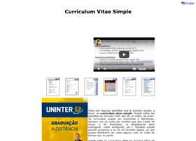 curriculumvitaesimple.com