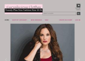 curvaliciousclothes.com