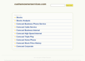 cushareownerservices.com