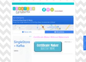 custom.creativecertificates.com