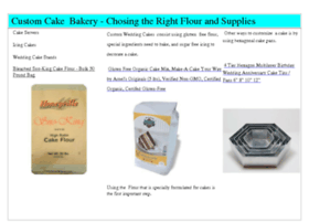 Customcakesbakery.com