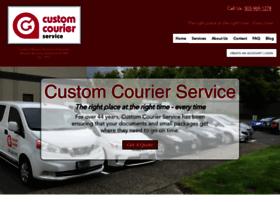 customcourierservice.com