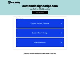 customdesignscript.com