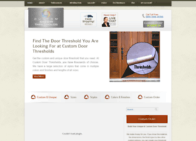 customdoorthresholds.com
