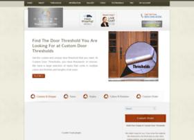 customdoorthresholds.com