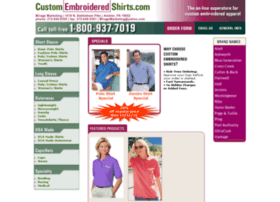 customembroideredshirts.com