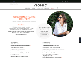 customer-care.vionicshoes.com