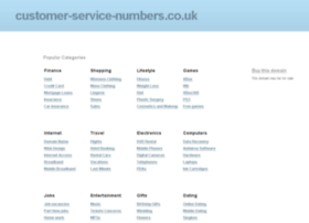 customer-service-numbers.co.uk