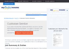 customer-service.myperfectresume.com