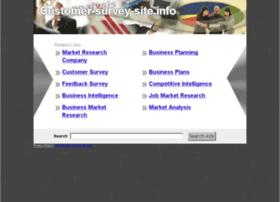 customer-survey-site.info