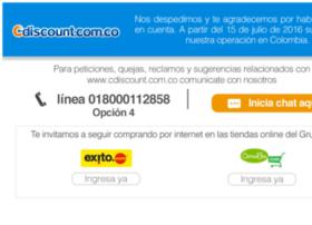 customer.cdiscount.com.co