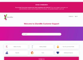 customercare.23andme.com
