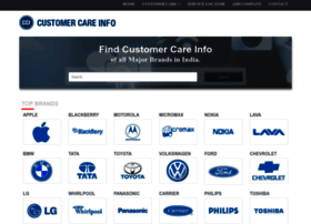 customercareinfo.in