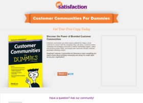 customercommunityfordummies.com