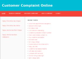 customercomplaintonline.in