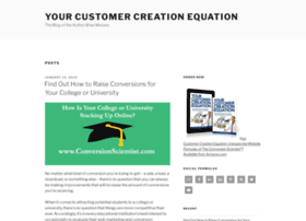customercreationequation.com