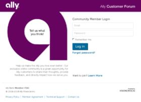 customerforum.ally.com